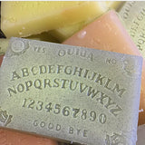 Glow in the dark ouija board soap