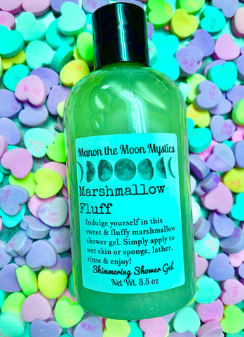 Marshmallow Fluff Shimmering Shower Gel
