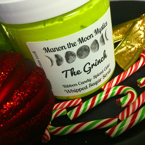 The Grinch Whipped Sugar Scrub