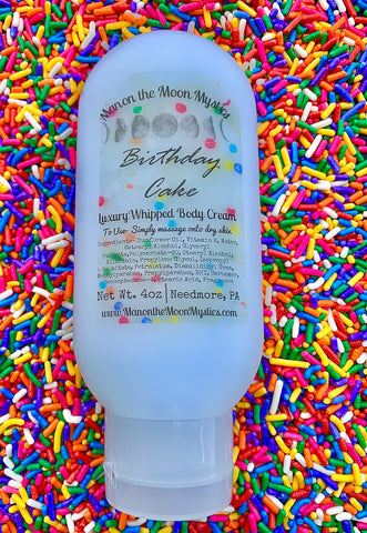 Birthday Cake Whipped Body Cream