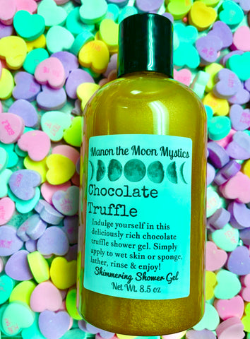 Chocolate Truffle Shimmering Shower Gel