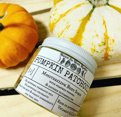 Pumpkin Patchouli Moisturizing Body Scrub