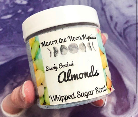 Candy Coated Almond Whipped Sugar Scrub