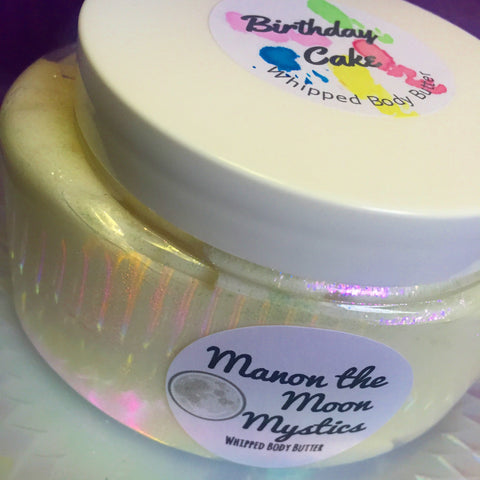 Birthday Cake Holographic Whipped Body Butter