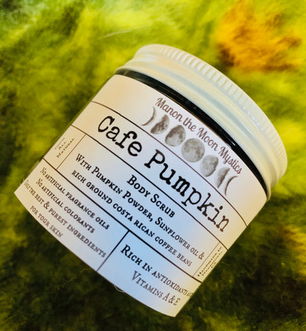 Cafe Pumpkin Body Scrub
