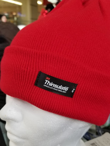 Thinsulate Plain Insulated Knitted Toques