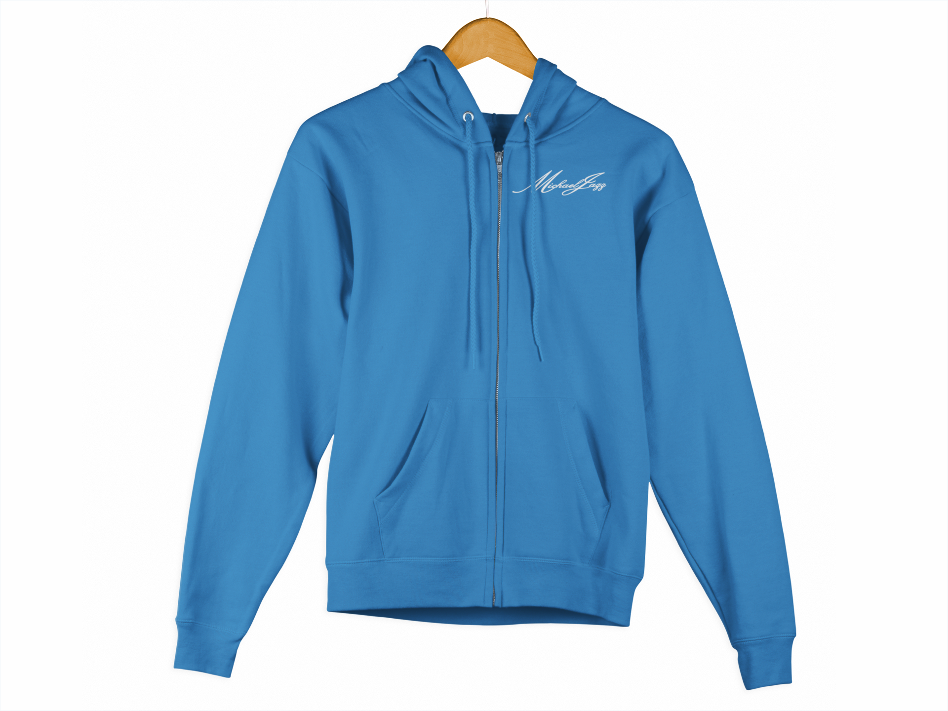 Michaeljazz Classic Signature Womens Zip-Up Hoodies - michaeljazz.ca - Michaeljazz Feel Good Lifestyle Brand