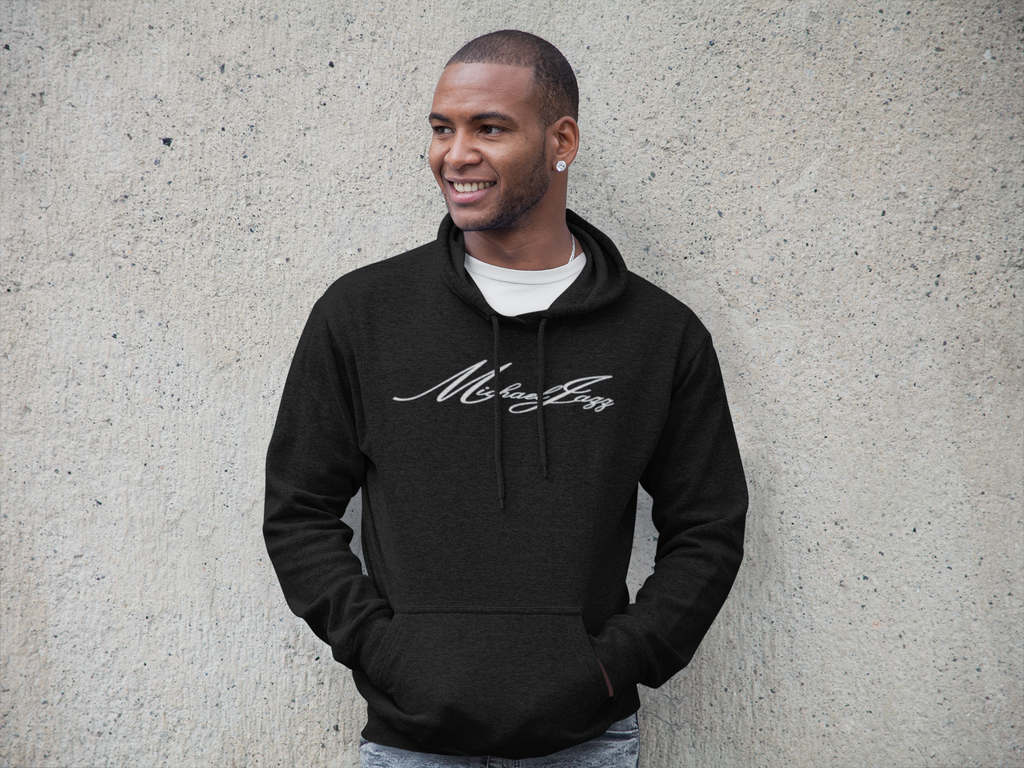 Michaeljazz Brand Mens Classic Signature Pull-OverHoodies - michaeljazz.ca - Michaeljazz Feel Good Lifestyle Brand