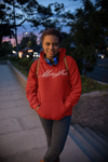 Michaeljazz Brand Womens Classic Signature Pull-Over Hoodies - michaeljazz.ca - Michaeljazz Feel Good Lifestyle Brand