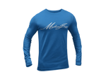 Michaeljazz Brand Classic Signature Mens Long Sleeve T-Shirt - michaeljazz.ca - Michaeljazz Feel Good Lifestyle Brand