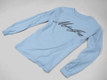 Michaeljazz Brand Classic Signature Womens Long Sleeve T-Shirt - michaeljazz.ca - Michaeljazz Feel Good Lifestyle Brand