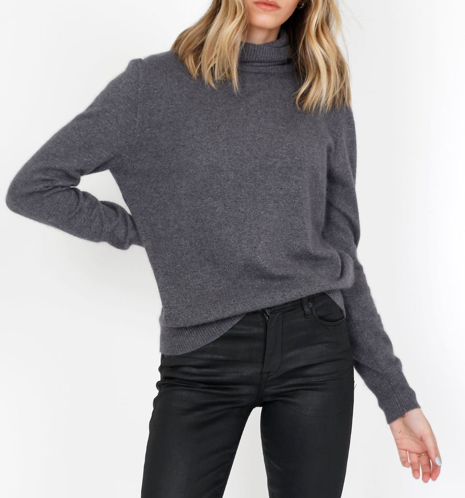 Katy Turtle Neck Sweater - SIX CRISP DAYS
