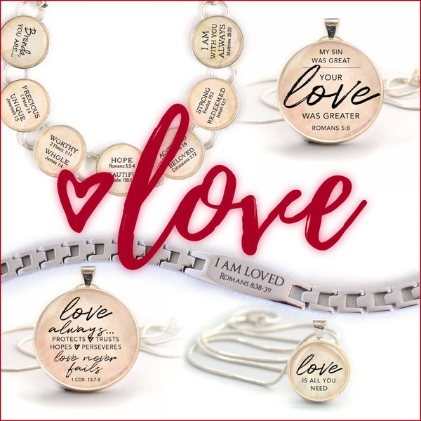 Give Meaningful and Personalized Charm Bracelets and Necklaces to Those You Love This Valentine's Day!