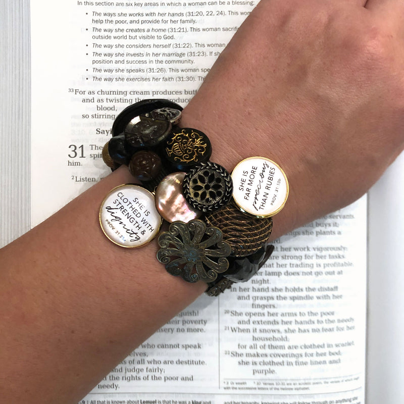 ScriptCharms Christian bracelet