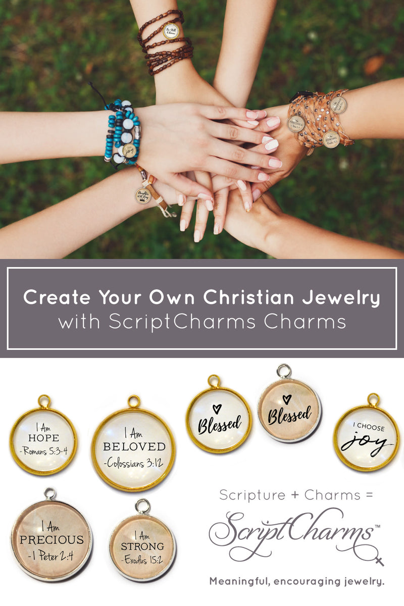 ScriptCharms Christian Jewelry Making charms