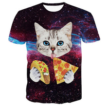Cat + Pizza = Life Cat Shirt - Amazing!