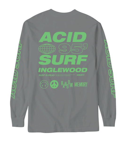 Acid Surf Longsleeve - Grey