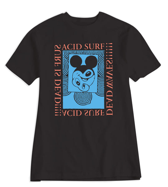 Acid Surf Tee - Black