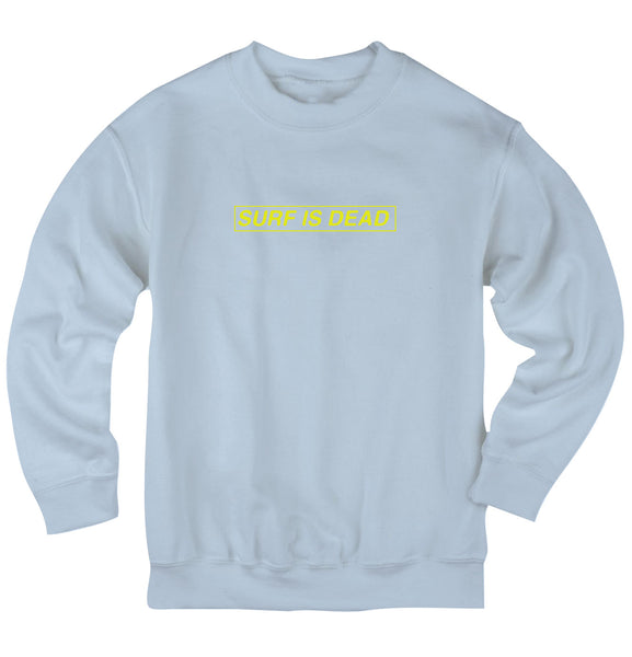 Boxed In Crewneck - Blue Bell