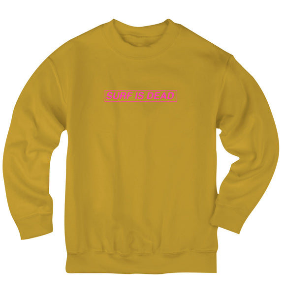 Boxed In Crewneck - Lemon