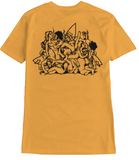 Surf Drug Cult Tee - Mustard