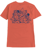 Surf Drug Cult Tee - Salmon