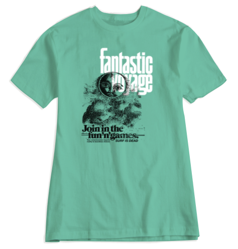 Fantastic Voyage Tee - Chalky Mint