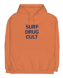 Surf Drug Cult Hoodie - Safety Orange