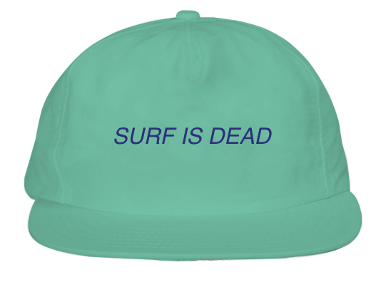 Asleep Hat - Teal