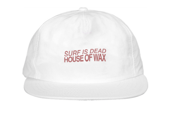 House Of Wax Hat - White