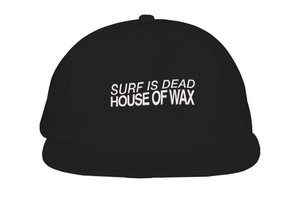 House Of Wax Hat - Black