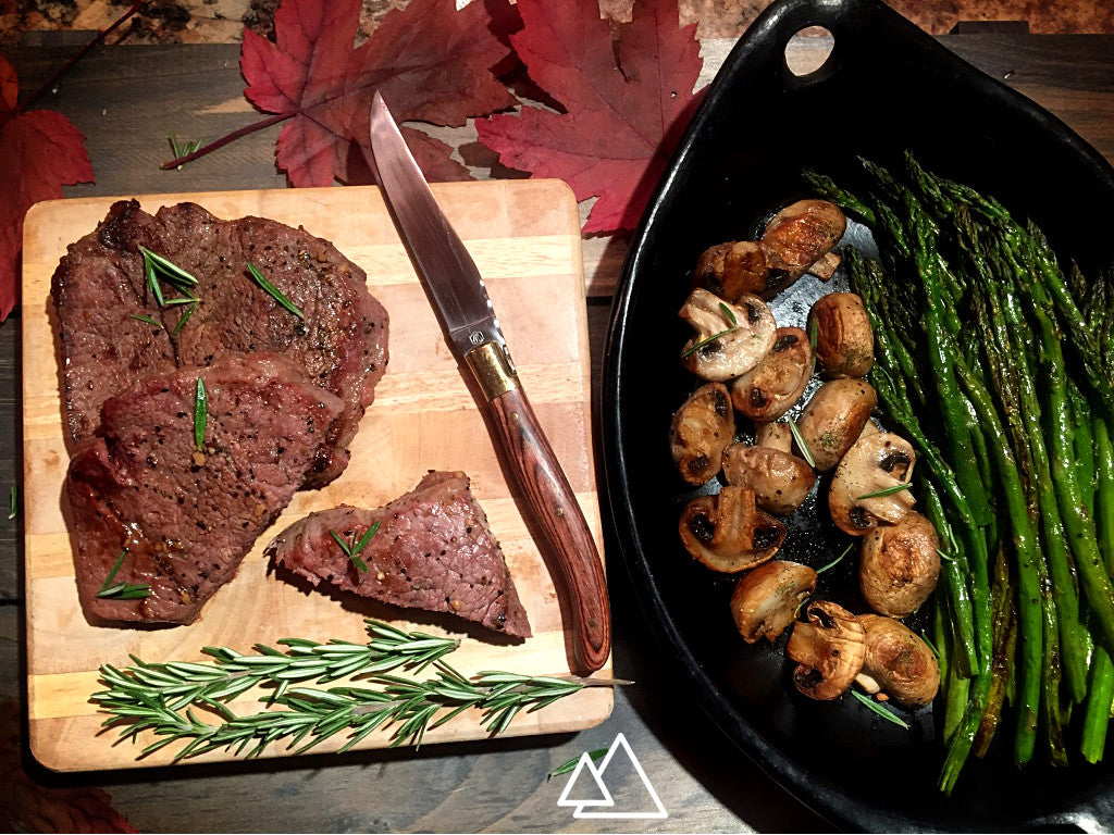 Easy Steak and Veggies | Stone Cooking Like a Pro