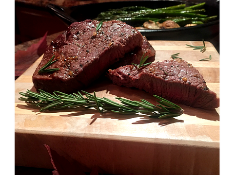 Steak and Rosemary