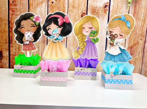Classic Disney Princess Party Centerpiece Decoration
