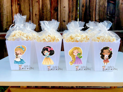 Classic Disney Princess Theme Party Favors