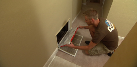 Checking Furnace Filter