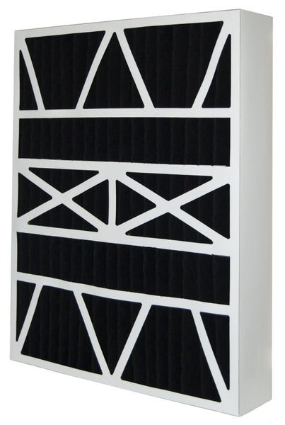 16x26x5 Air Filter Home White Rodgers Carbon Odor Block