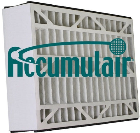 16x25x3 Air Filter Home White Rodgers MERV 8