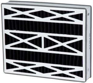 16x25x3 Air Filter Home White Rodgers Carbon Odor Block