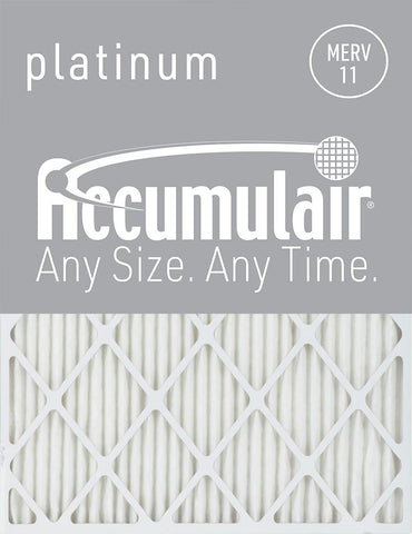 16x25x4 Air Filter Home for Accumulair MERV 11
