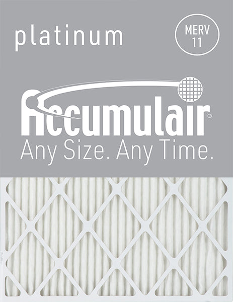 14x25x4 Accumulair Furnace Filter Merv 11