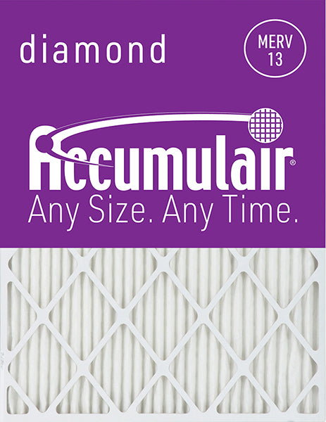 16x25x4 Accumulair Furnace Filter Merv 13