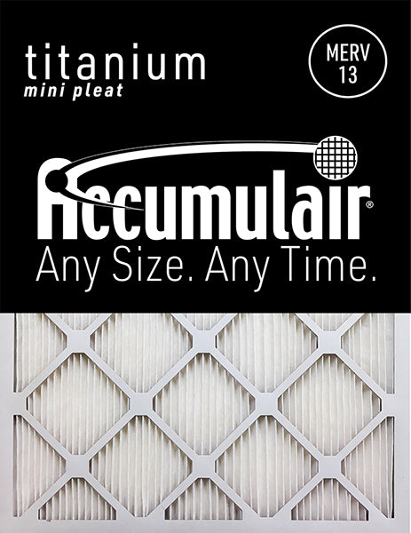 20x25x1 Accumulair Furnace Filter APR 2250