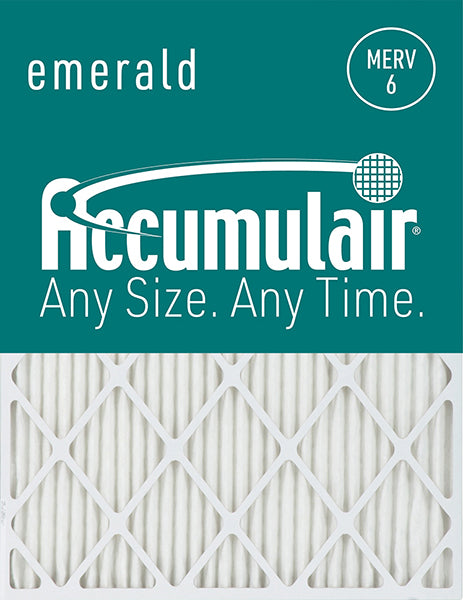 10x25x4 Accumulair Furnace Filter Merv 6