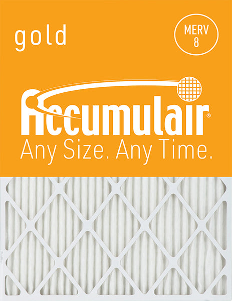 10x25x4 Accumulair Furnace Filter Merv 8