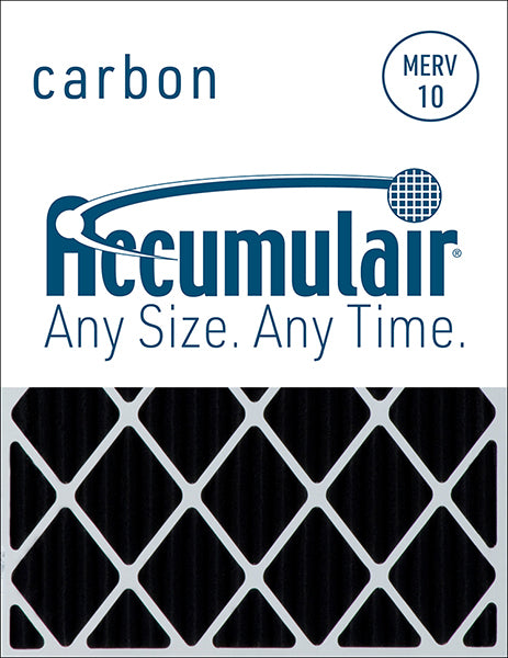 16x25x4 Accumulair Furnace Filter Carbon