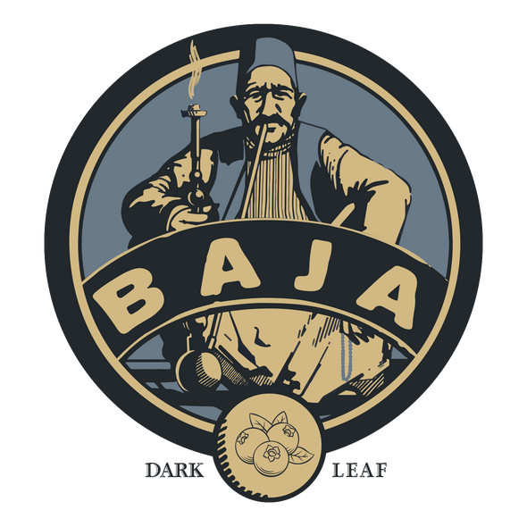 Baja Dark Leaf Aged Tobacco Berry Bliss - - Shishamore.com
