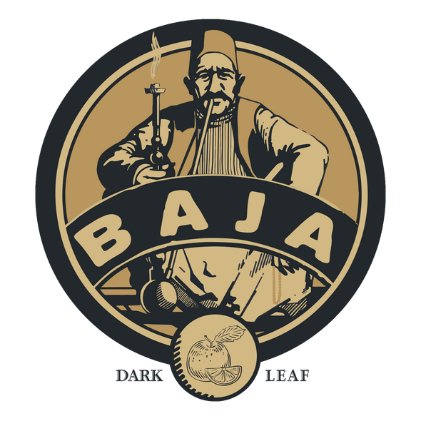 Baja Dark Leaf Aged Tobacco Bud Orange - - Shishamore.com
