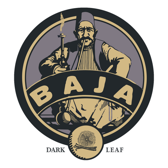 Baja Dark Leaf Aged Tobacco London Fog - - Shishamore.com