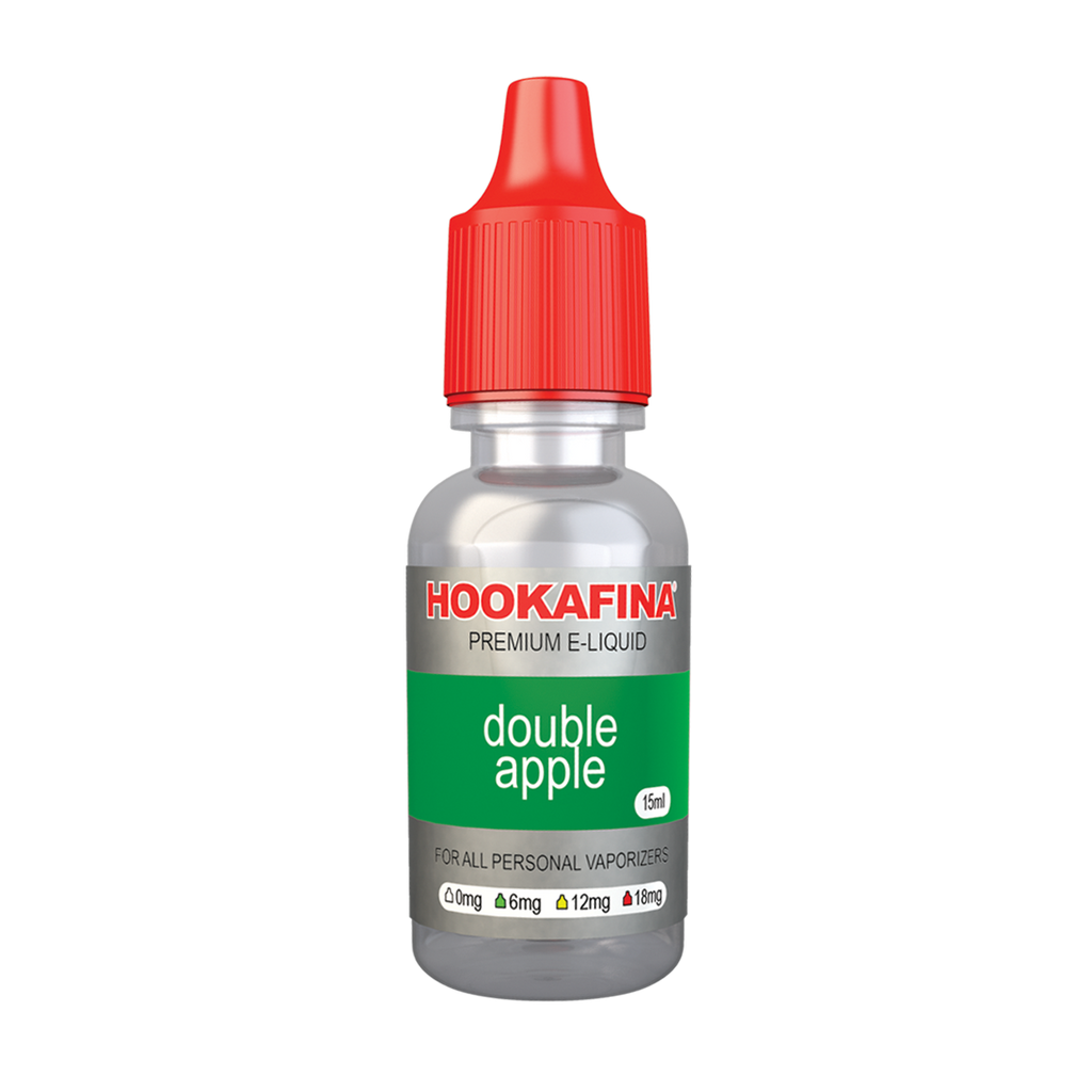 Hookafina E-Juice Double Apple 15ml - HOOKAFINA